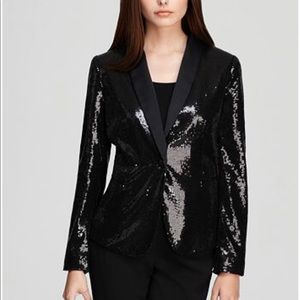 Black Sequin Blazer - Perfect for NYE!